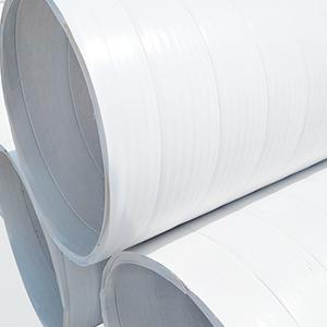 规范化的双扣聚氯乙烯缠绕管